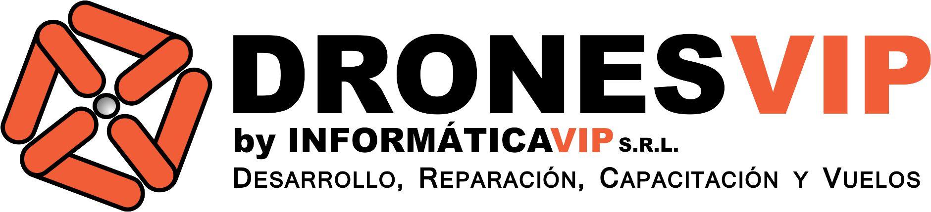 Logo DRONESVIP